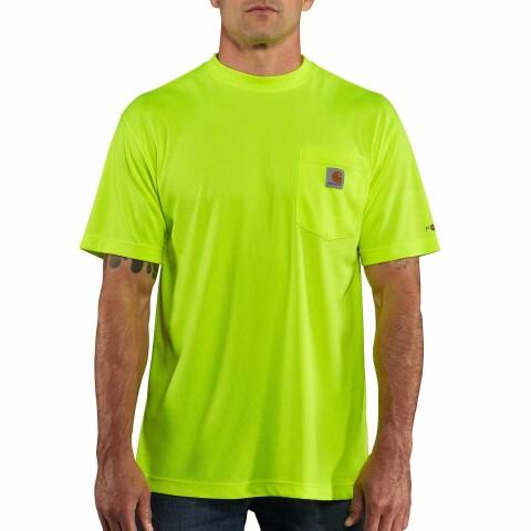 100493323 Carhartt Lime Tshirt